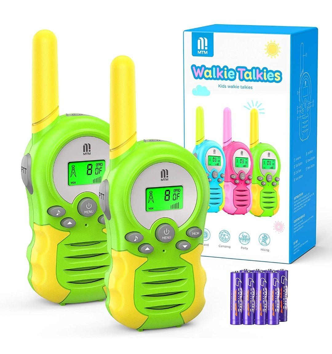 Walkie Talkie - 8 Canales Rango de 3KM 10 Tonos de Llamada