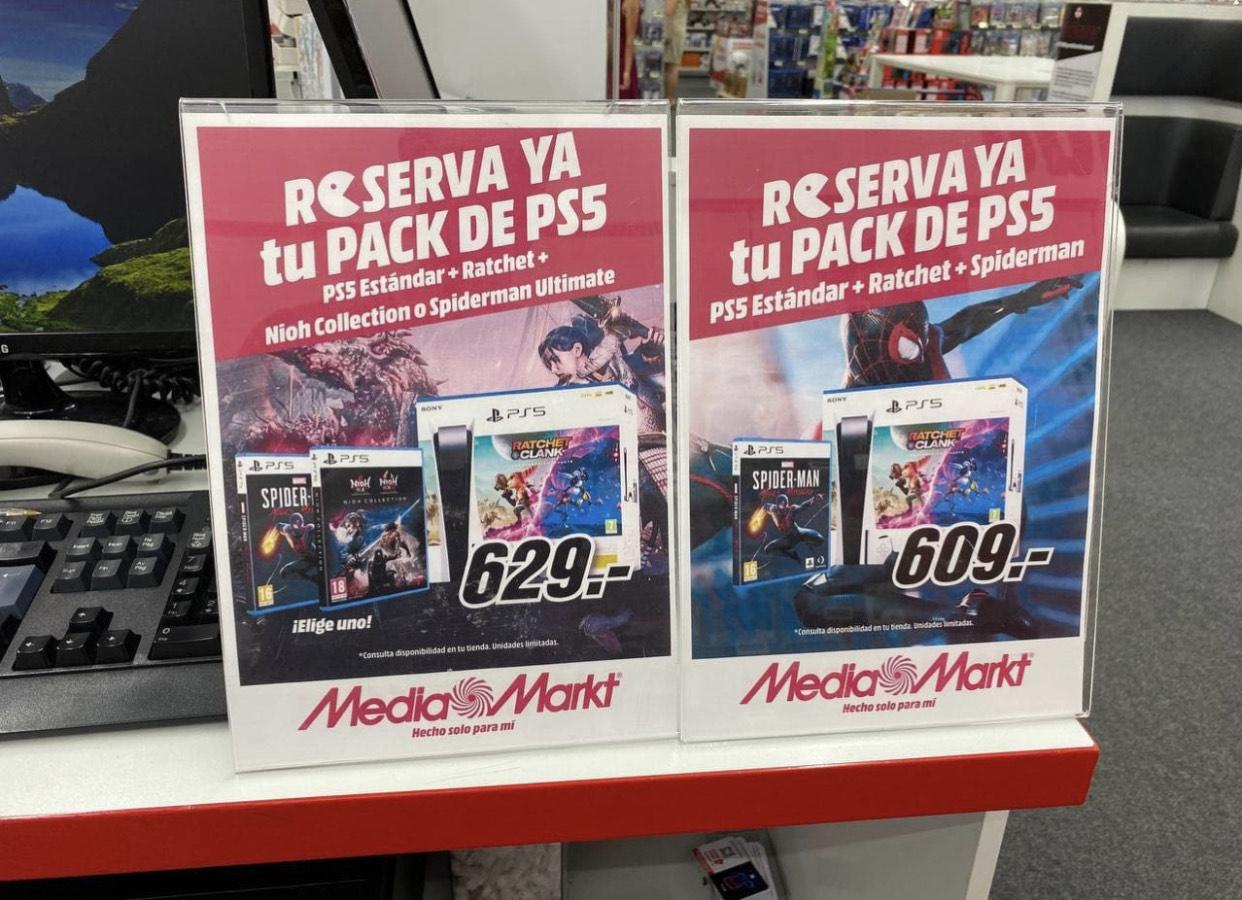 Pack PS5 con Ratchet&Clank [Reservas MediaMarkt]