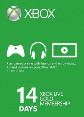 Codigo Xbox Live 14 Dias