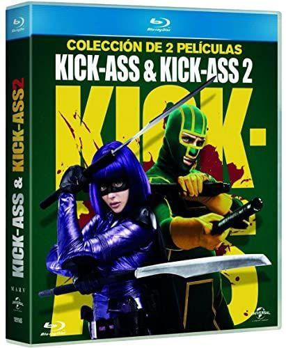Pack: Kick-Ass 1 + Kick-Ass 2 [Blu-ray] (al tramitar el pedido)