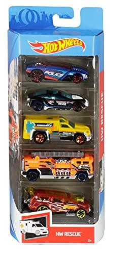 Hot Wheels Pack de 5 coches (modelos surtidos)