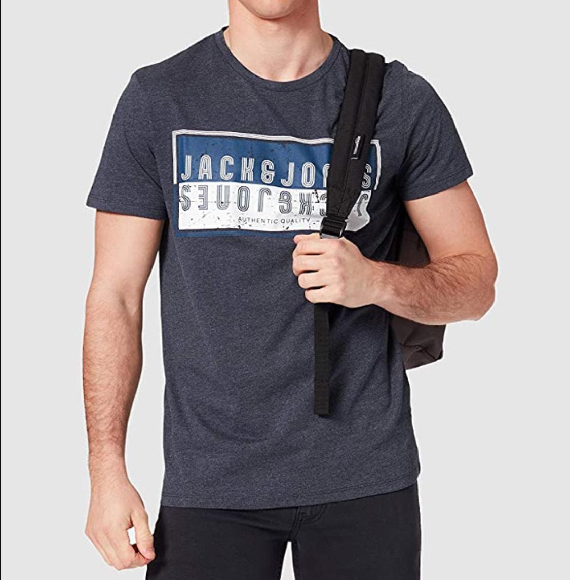 Camiseta Jack & Jones adulto talla XL (L a 7,68€)