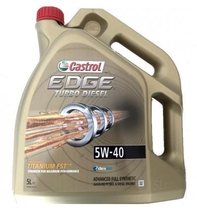 Aceite Castrol Edge TDI 5W40
