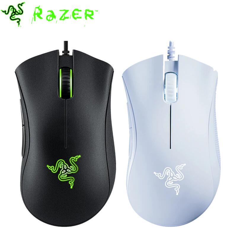 Razer Deathadder Essential ratón Gaming (Negro y blanco)