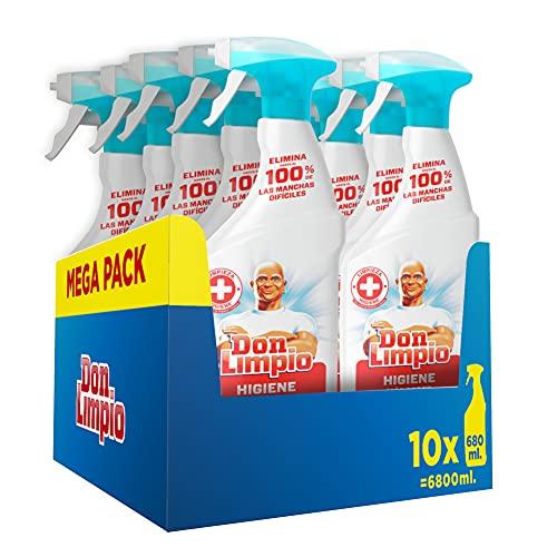 Don Limpio Higiene, Detergente en Spray MEGA PACK DE 10