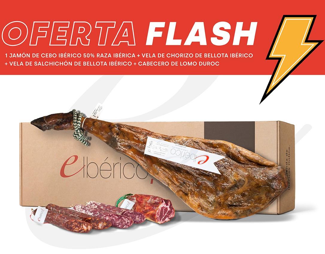 LOTE OFERTA FLASH CEBO Y BELLOTA