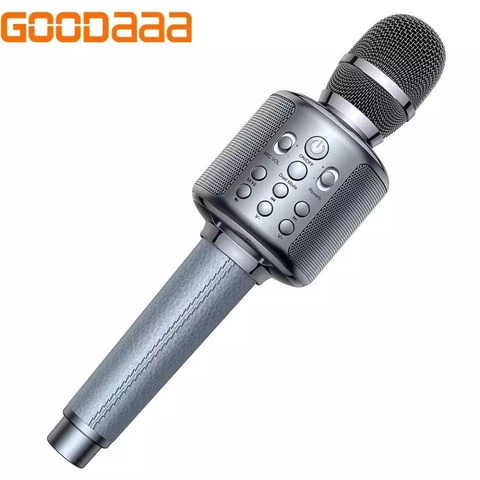 Goodaa Micrófono de Karaoke inalámbrico para teléfono