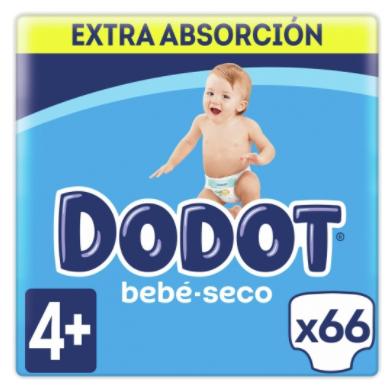 Pañales Dodot Bebé Seco desde 14 céntimos unidad. 2x1 en Chequeahorro.