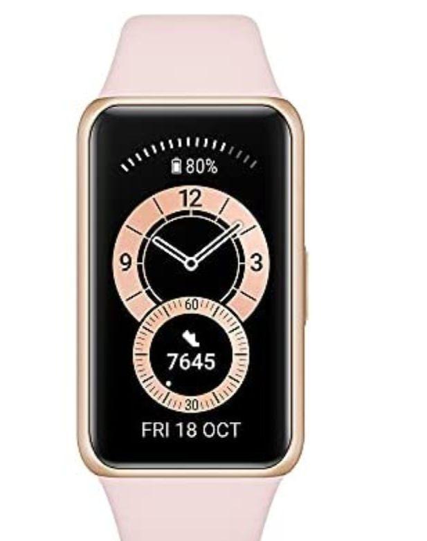 Huawei Band 6 - Fitness Tracker Sakura Pink