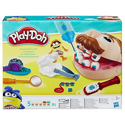 Dentista bromista de play doh