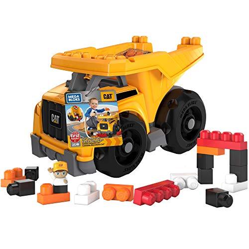 MEGA Bloks - Cat Super camión volquete (Mattel DCJ86)