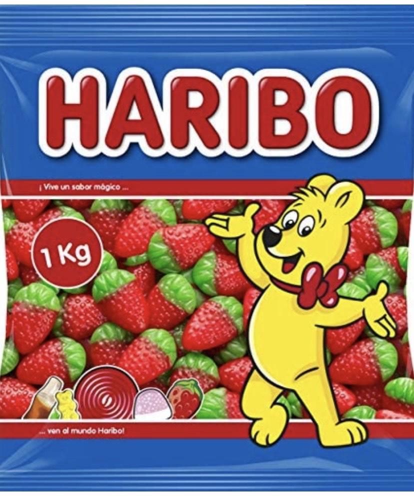 1 kilo de fresones Haribo