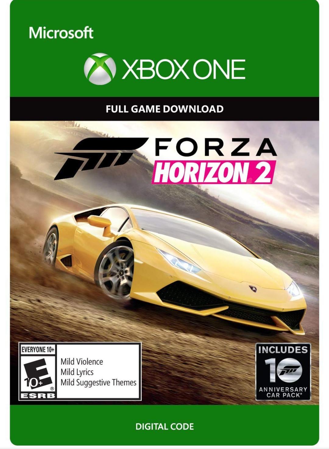 Forza horizon 2 para Xbox one por solo 13.19€