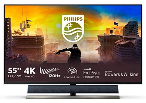 """Monitor Philips de 55"""" UHD 4K (3840x2160, 120 Hz Displayport 1x1.4)"""