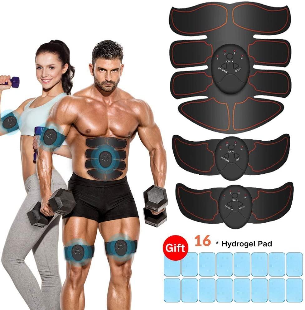 Estimulador muscular 16 almohadillas solo 8.7€