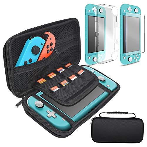 Nintendo Switch Lite-funda rigida + Protector Pantalla Cristal templado