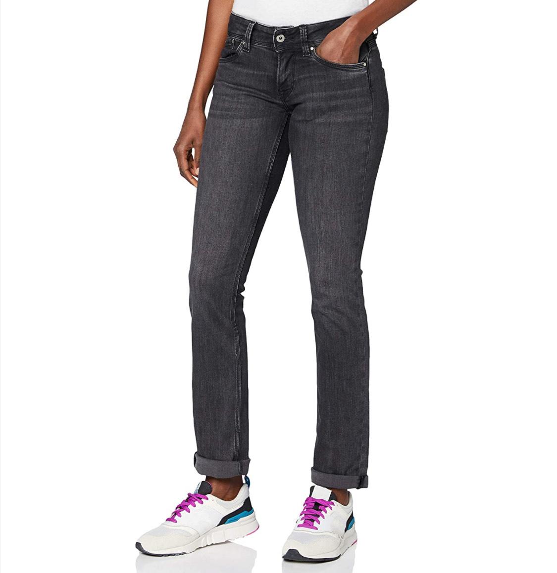 Vaqueros Pepe Jeans mujer talla 33W/34L (42 largo)