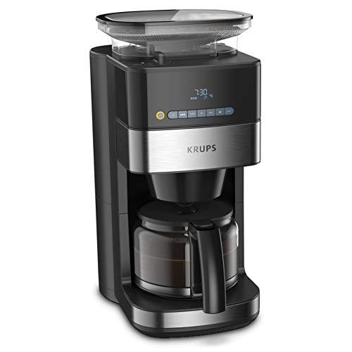Cafetera de filtro con molinillo, automática, 1.25 L, 10 - 15 tazas