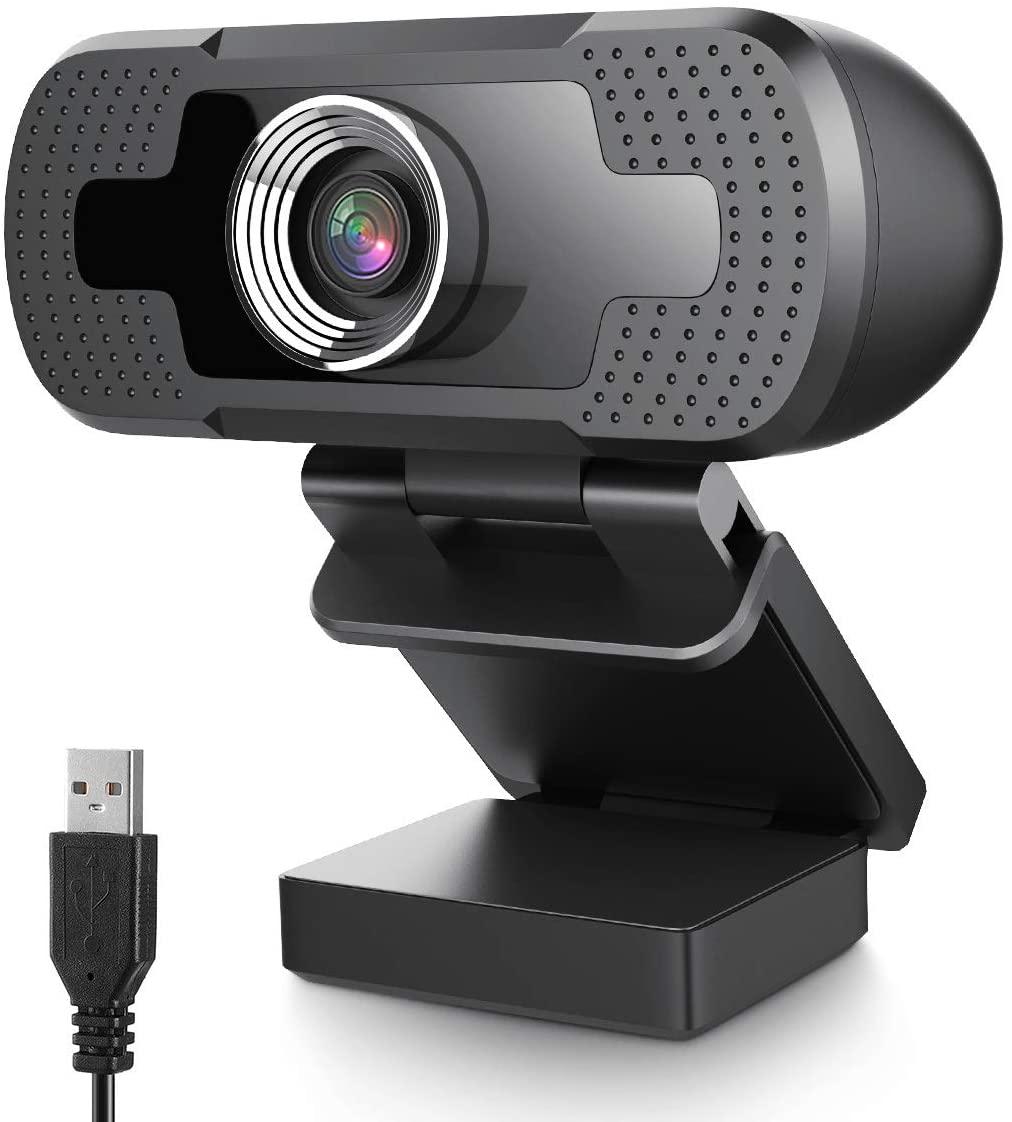 Webcam 1080P con micrófono solo 4.4€