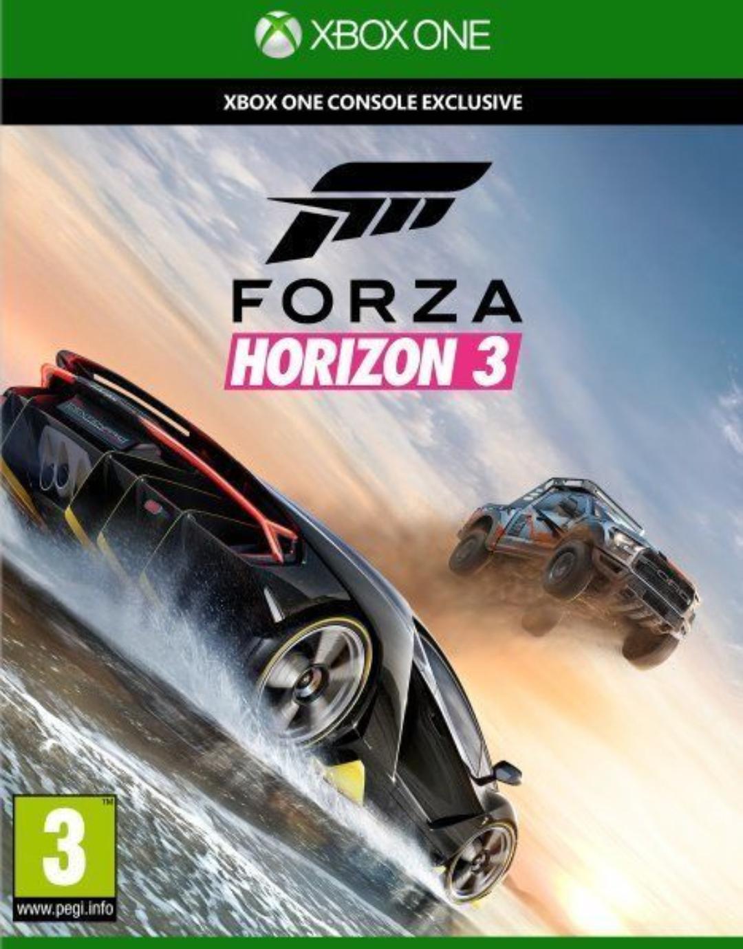 Forza horizon 3 para Xbox one por solo 22,70€