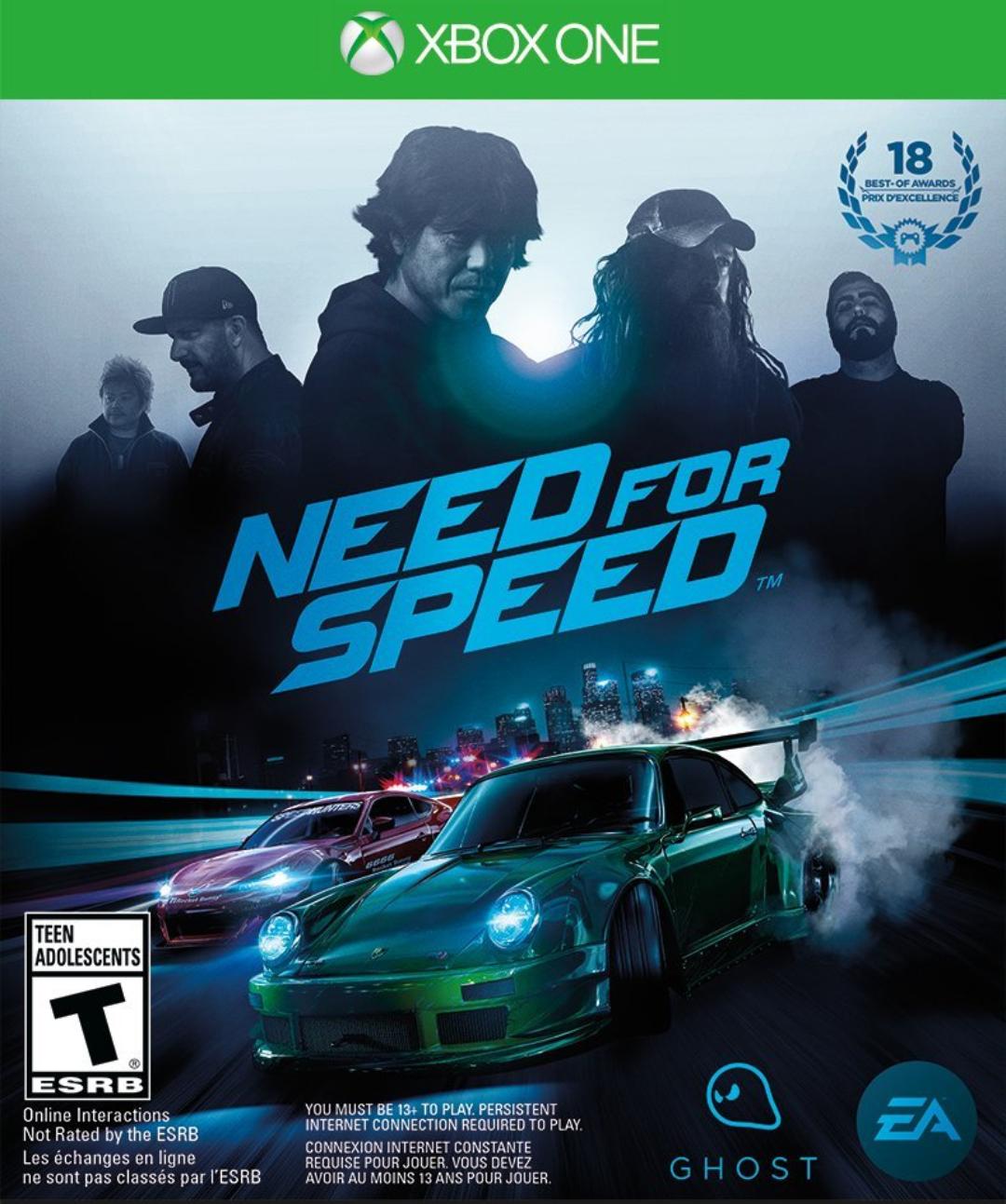 Need for Speed para xbox one por 11,98€