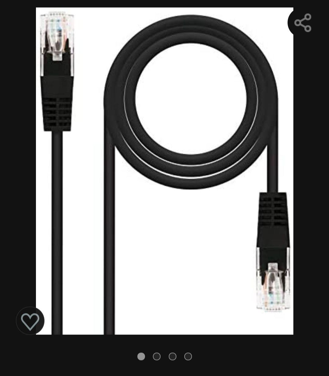 Cable Ethernet Categoría 6 (1m) y 6A
