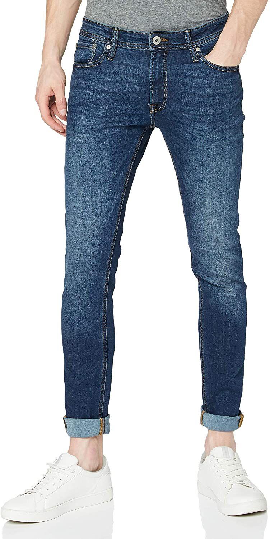 JACK & JONES Jjiliam Jjoriginal Am 014 Lid Noos, Jeans Hombre, Azul (Blue Denim), W32/L34