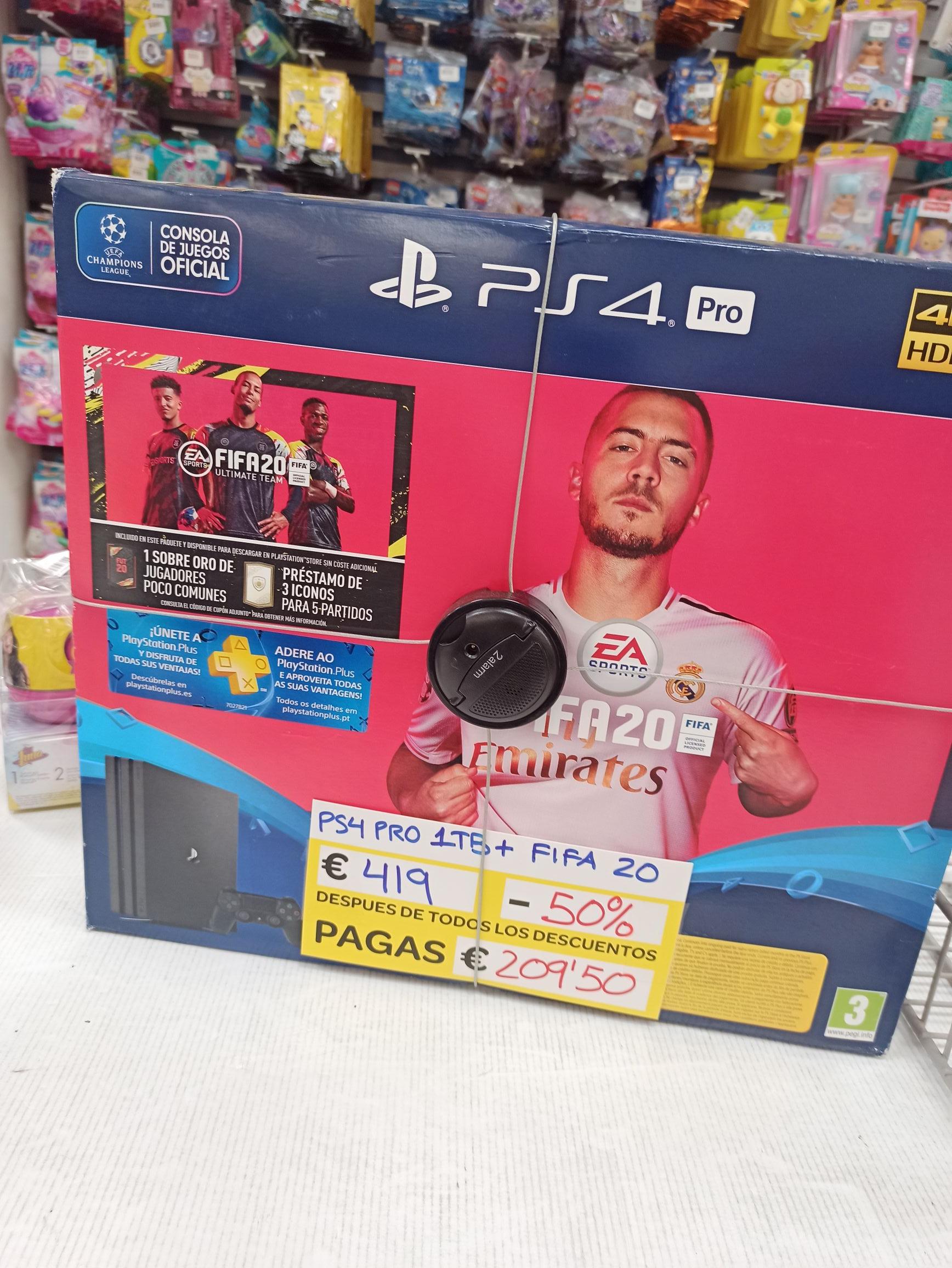 Ps4 Pro 1tb + Fifa 20 Outlet Carrefour Los Rosales