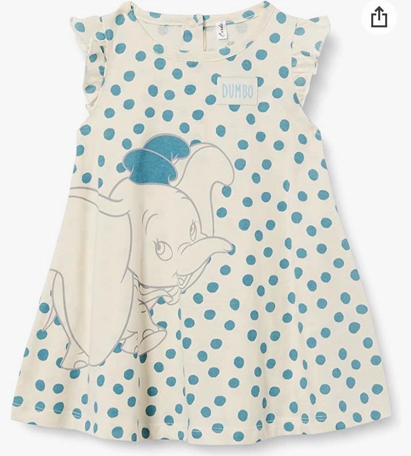 Cerdá - Vestido Bebe Disney Dumbo