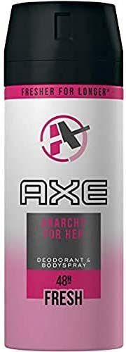 Desodorante Axe Bodyspray para mujer, protección de 48 horas, Negro - 150 ml