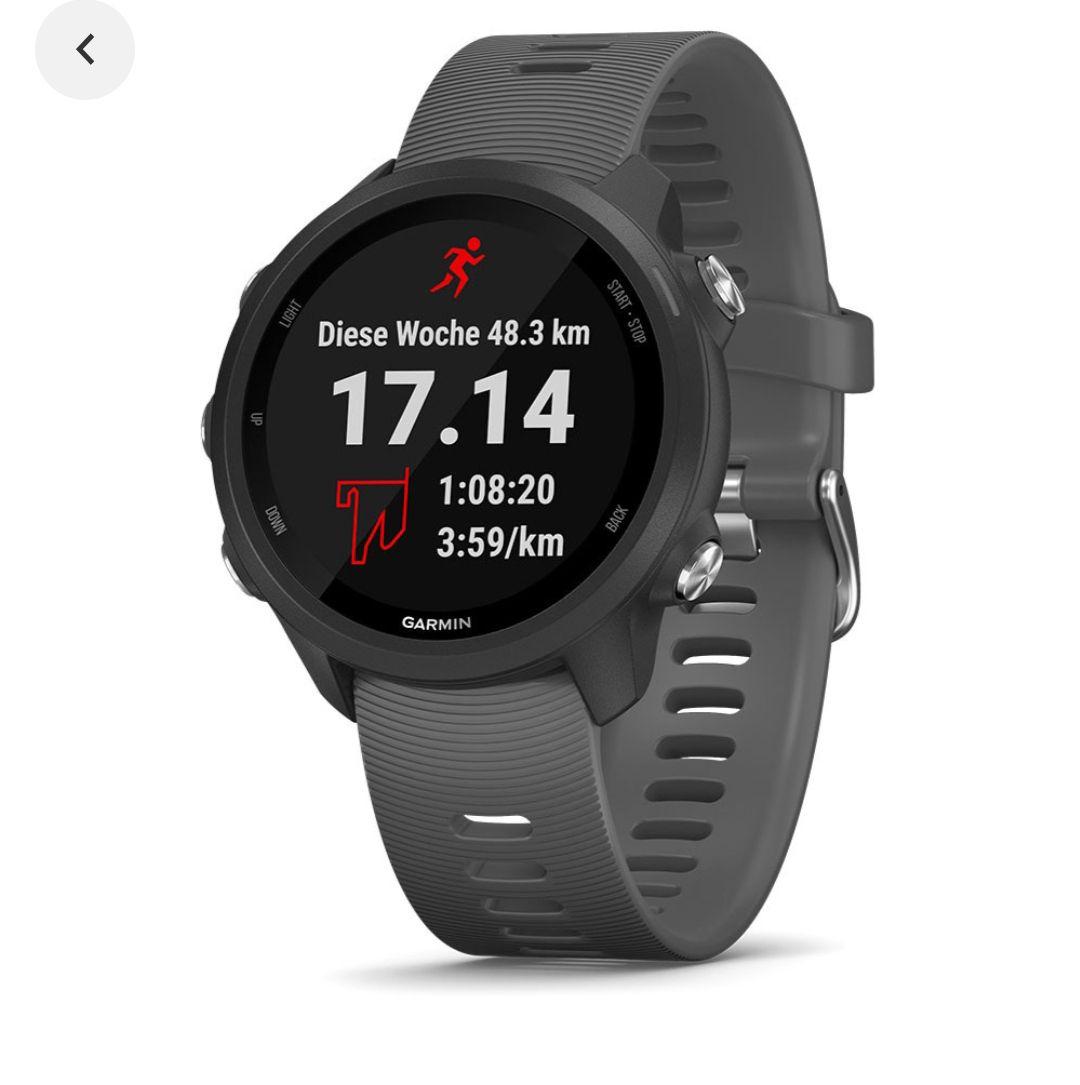 Según idealo, el precio más bajo en el último año fue de 199 e . Garmin Forerunner 245 - Reloj Gps/pulsómetro Grey
