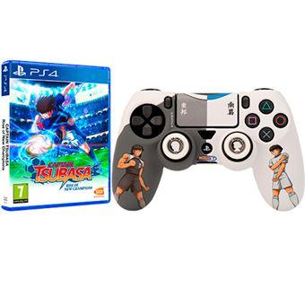 Captain Tsubasa: Rise of New Champions + Silicona para Dualshock PS4