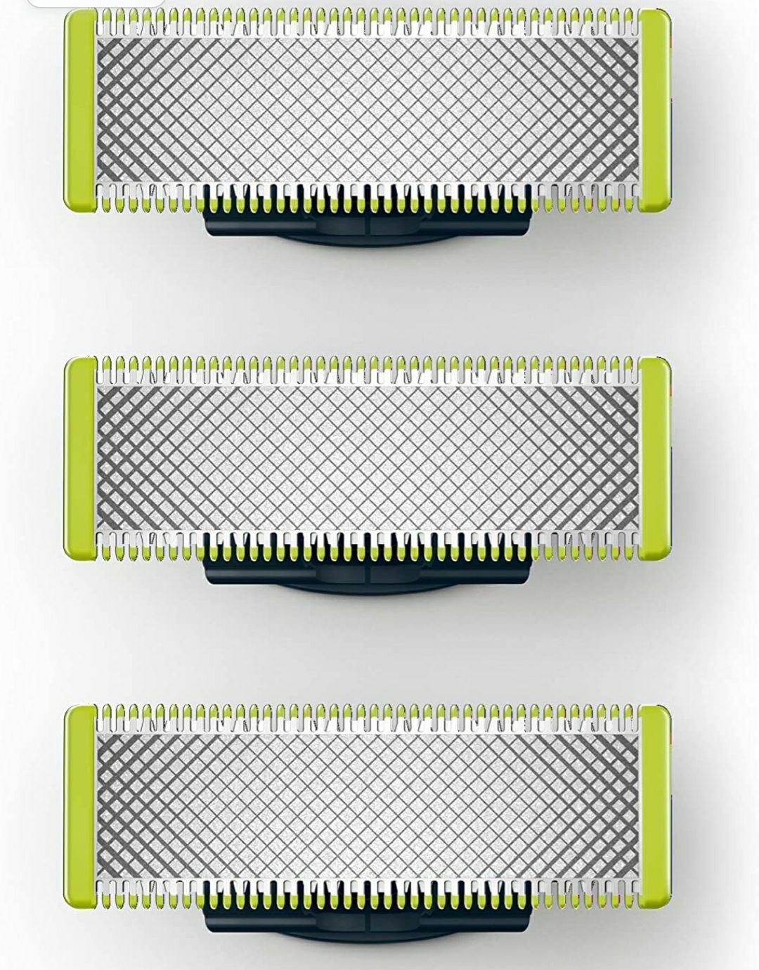 Pack de 3 cuchillas de recambio Philips OneBlade QP230/50 [compra recurrente]