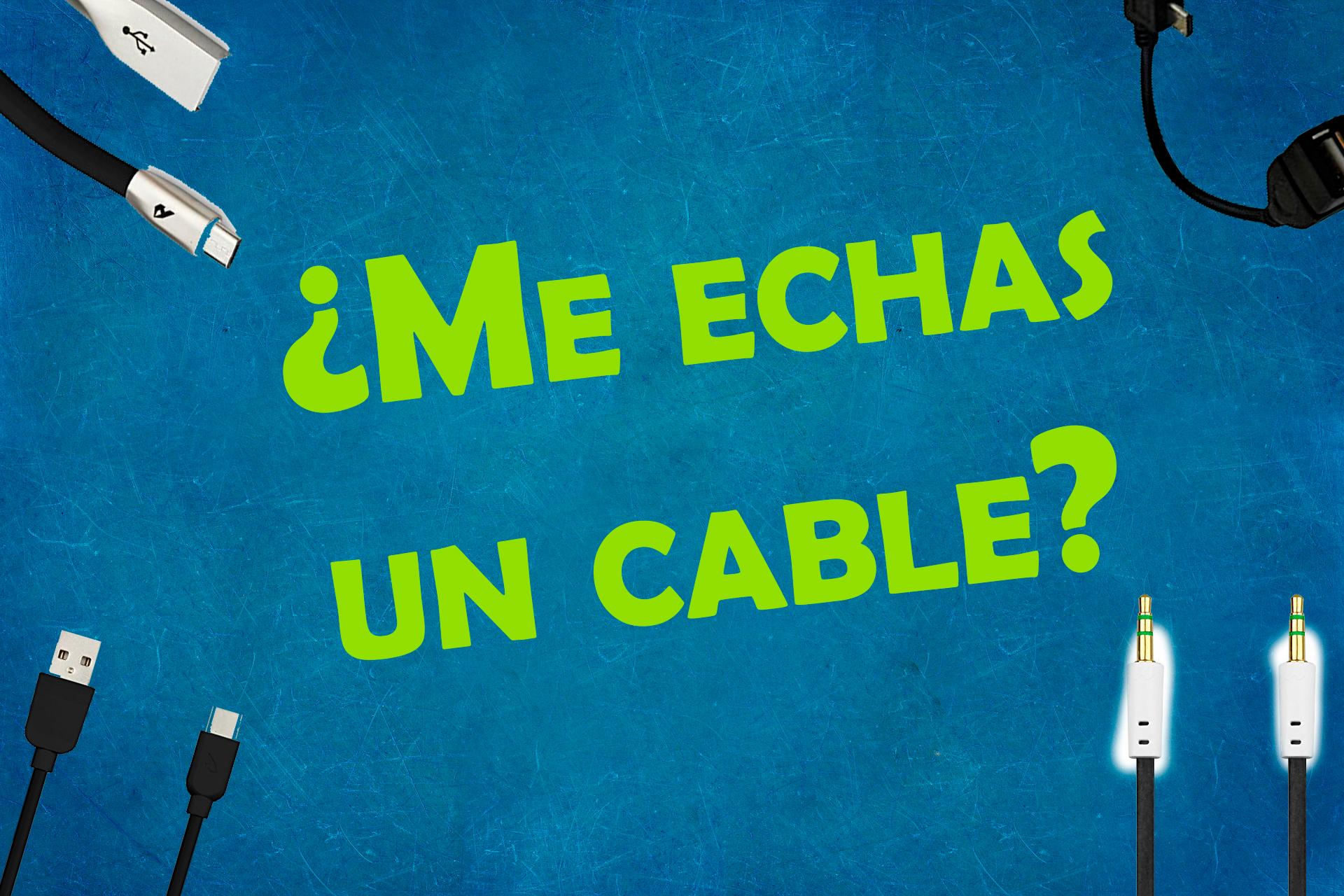 Cables desde 0,60€ con envío prime (y otros accesorios a miniprecios)