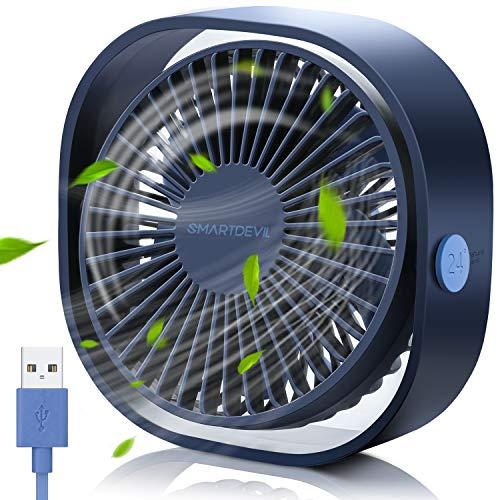 SmartDevil Ventilador USB color azul.