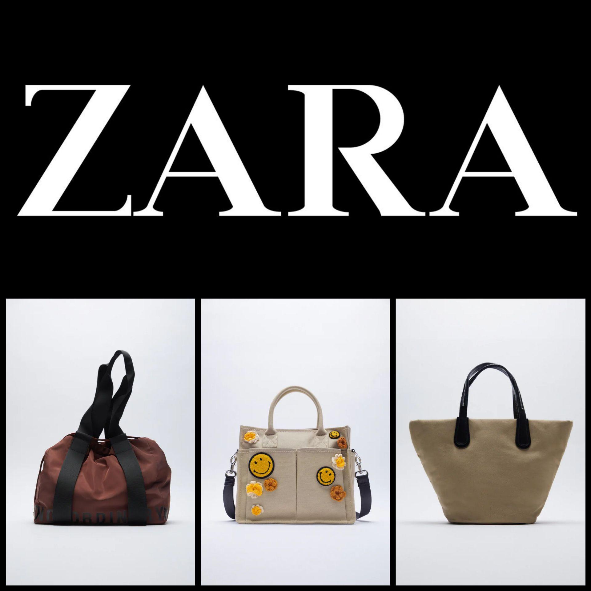 Recopilación Bolsos Zara desde 5,99€