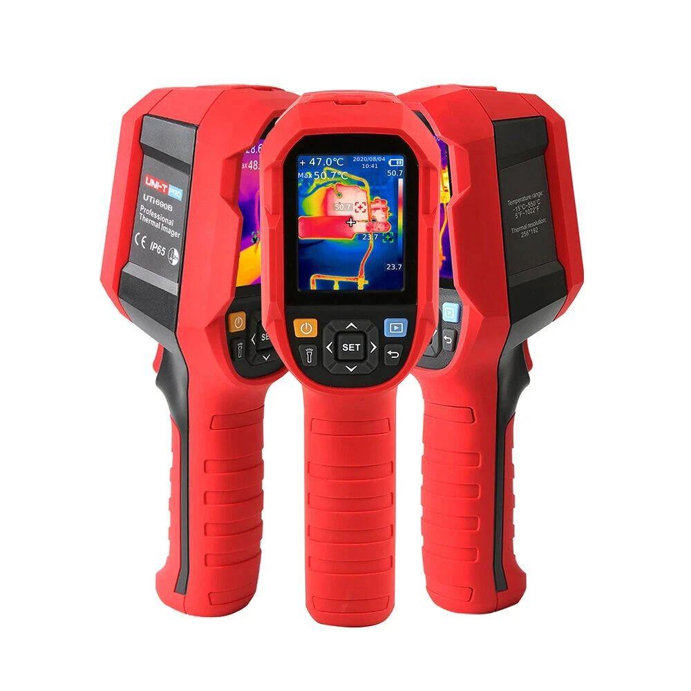 Cámara termográfica infrarroja de 256 * 192 píxeles -15 ~ 550 ° C