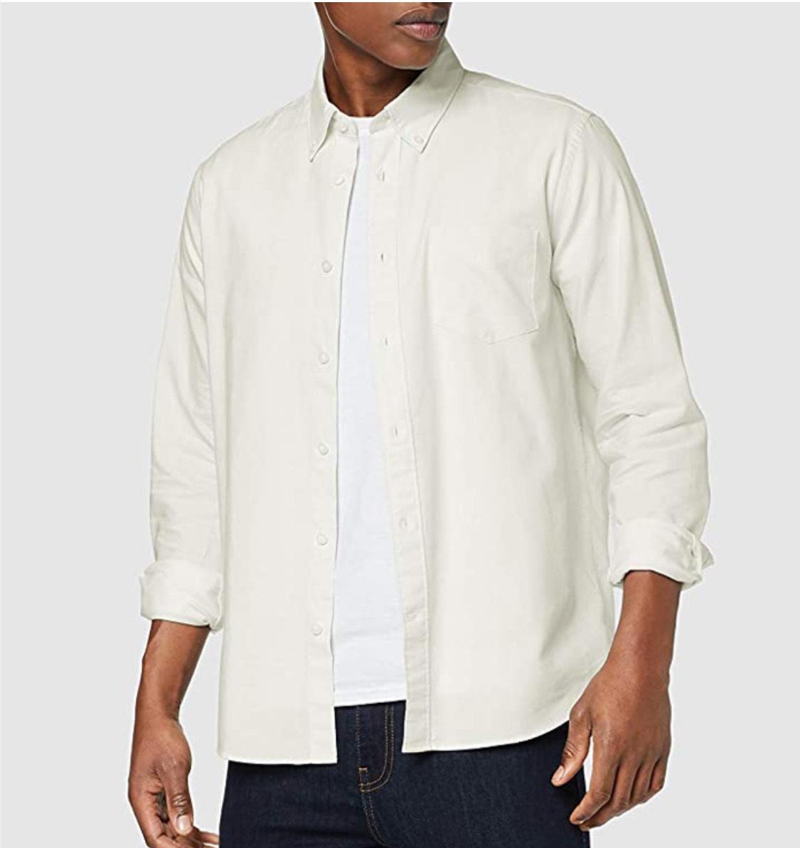 Camisa algodón find. hombre talla S.