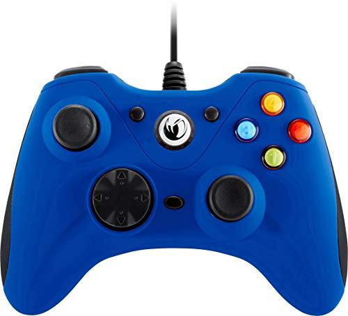 Nacon - Mando para videojuegos GC-100, Color Azul (PC)