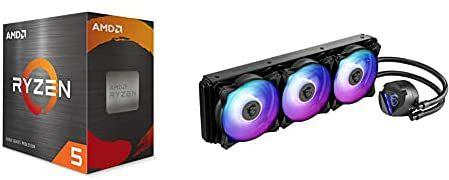 AMD Ryzen 5 5600X + MSI MAG REFRIGERACIÓN LÍQUIDA 360R