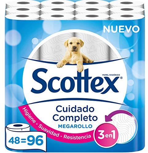 Scottex Megarrollo 48 rollos por 14,20€ (compra recurrente)