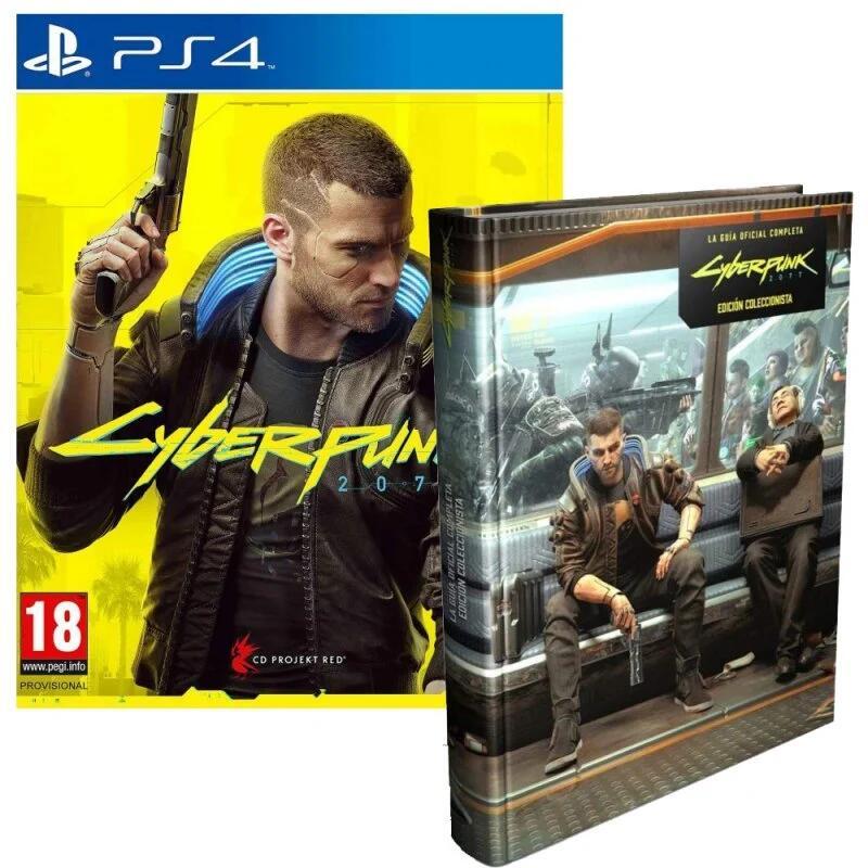 Cyberpunk 2077 Edición Day One PS4 + Guía Oficial Coleccionista