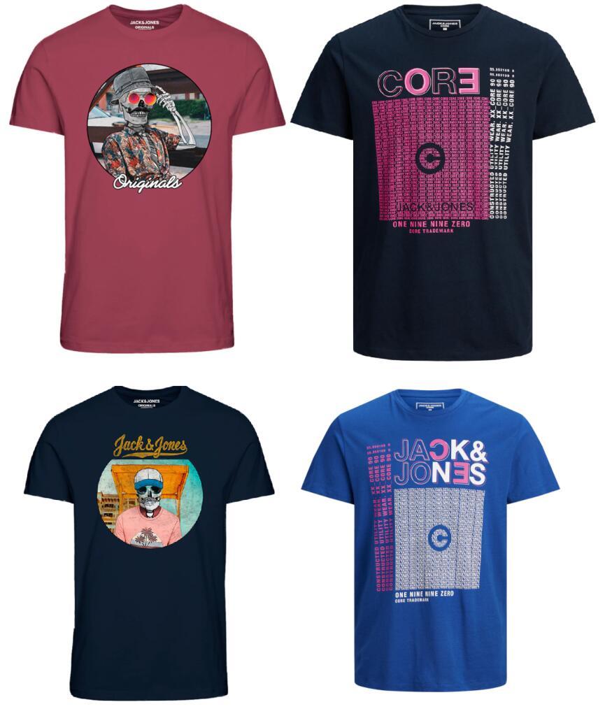 40 CHOLLO Camisetas Jack & Jones por 6.39€/Unidad en El Corte Inglés (+Modelos Desde 7.99€ en Descripcion)