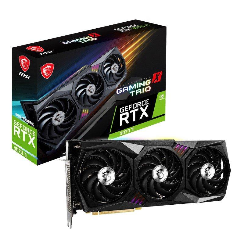 (Reacondicionada) MSI GeForce RTX 3070 Ti GAMING X TRIO 8GB GDDR6X