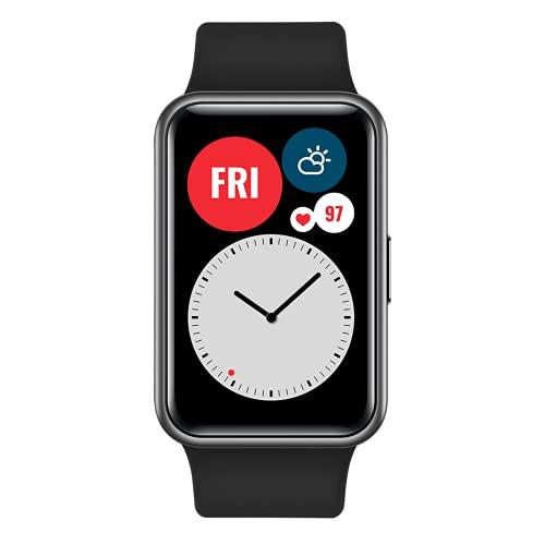 "HUAWEI Watch FIT - Smartwatch con Cuerpo de Metal, Pantalla AMOLED de 1,64"""