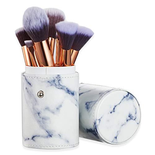 Set de Brochas de Maquillaje Profesional (10 Piezas) + Estuche de Maquillaje.