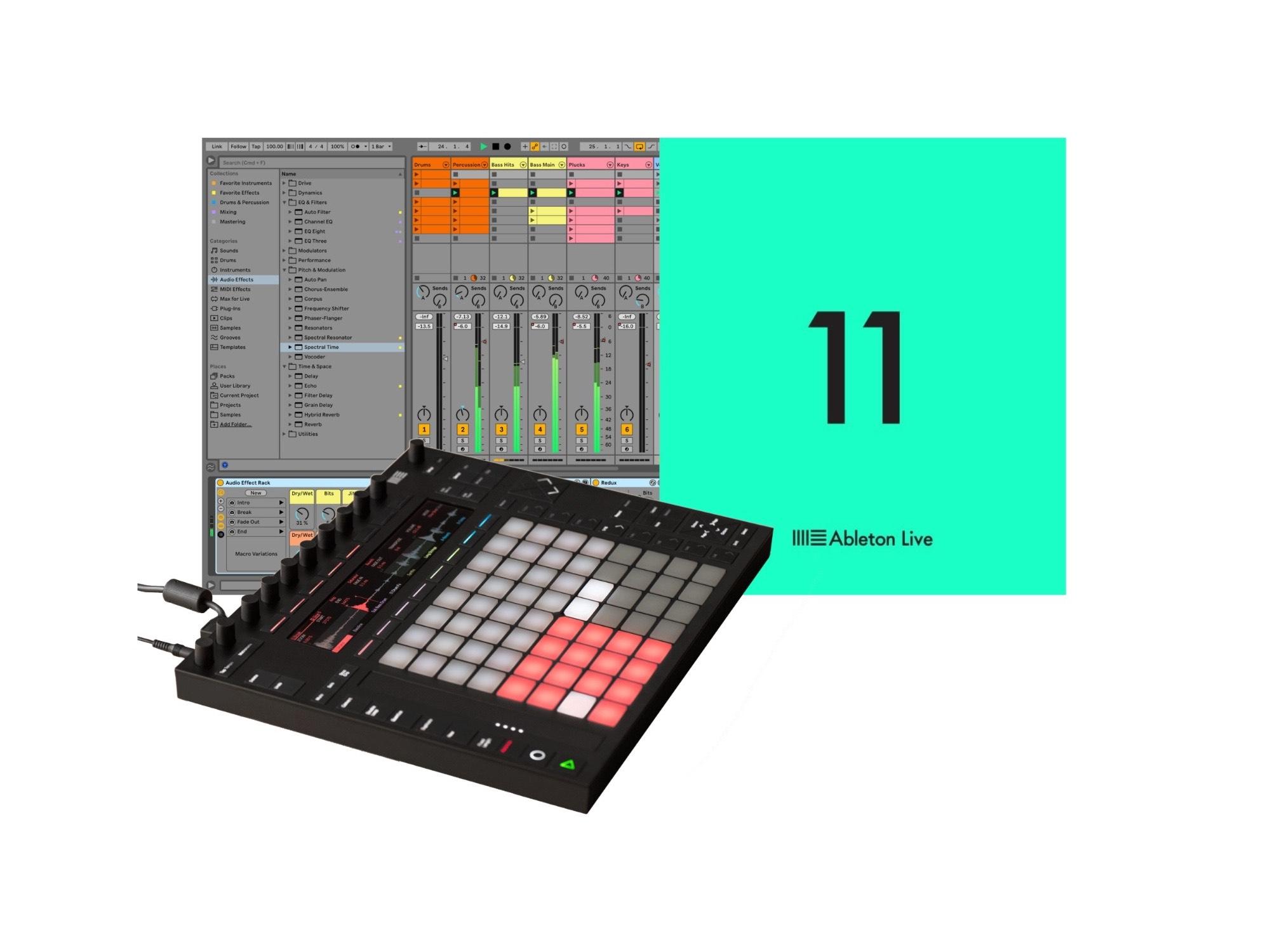 Ableton Live Suite 11 GRATIS comprando Push 2