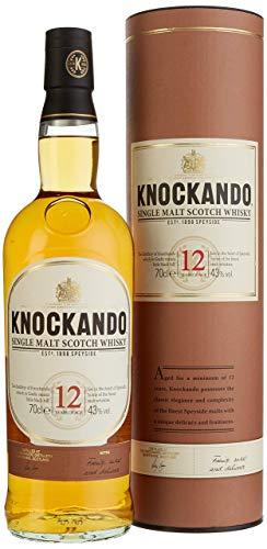 Knockando Whisky escocés puro de malta de Speyside 12 Años - 0.7 L