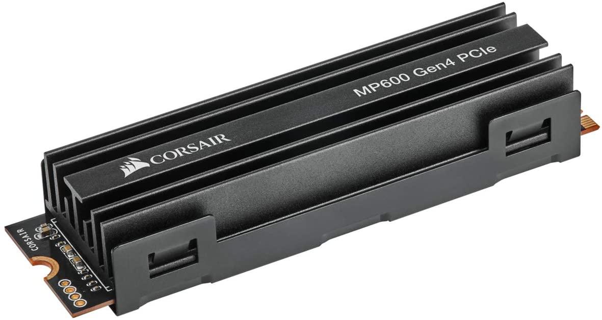 Corsair NVMe 1TB 4950MB/s solo 124€