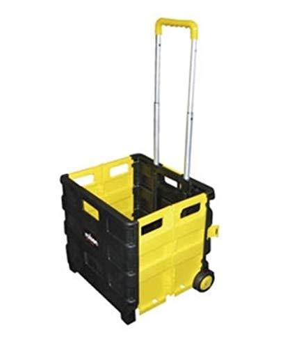 Carretilla Rolson Tools con caja de transporte plegable (25 kg)